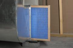 Free Replacing Furnace Filter Stock Photo - 147320200