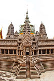 Replica of Angkor Wat at the Grand Palace, bangkok Stock Photos