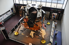 Replica of Apollo Lunar Module, Washington DC. Replica of Apollo Lunar Module in Smithsonian National Air and Space Museum in Washington DC, USA Stock Photo
