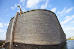 Replica of Ark of Noah Royalty Free Stock Images
