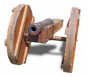 Replica cannon Stock Photo