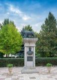 Replica of the Capitoline Wolf in Galati, Romania Stock Photography