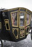 Replica of the carriage. Royalty Free Stock Image