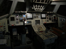 Replica of a cockpit of Soviet Space Shuttle Stock Photo