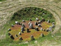 Replica decorativa dello stonehedge Immagini Stock Libere da Diritti