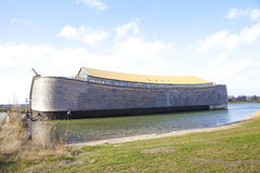 Replica dell'arca di Noè fotografia stock