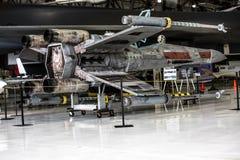 Replica dell'X-ala di Starfighter Fotografia Stock Libera da Diritti