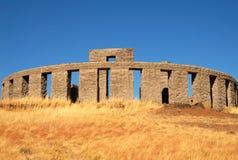 Replica di Stonehenge Fotografia Stock Libera da Diritti