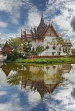 Replica of Dusit Maha Prasat Palace, Ancient Cityf Bangkok Royalty Free Stock Image