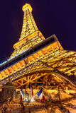 Replica of Eiffel tower in Las Vegas Royalty Free Stock Photo