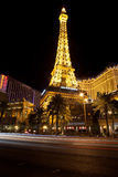 Replica of Eiffel Tower at the Paris Hotel Royalty Free Stock Photo