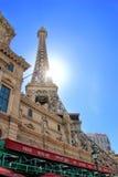 Replica of the Eiffel Tower, Paris hotel and casino, Las Vegas, Stock Image