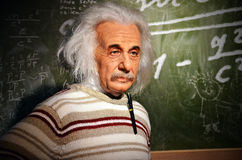 Replica of einstein Stock Image