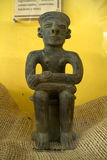 Replica figurine in a museum, Santa Elena, Ecuador Stock Photography