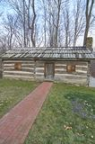 American frontier log cabin Royalty Free Stock Photo