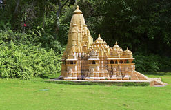 Replica of kandariya mahadeva temple shenzhen window of the world Stock Photos