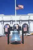 Replica of Liberty Bell royalty free stock photography
