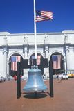 Replica of Liberty Bell, Union Station, Washington, D.C. Royalty Free Stock Images