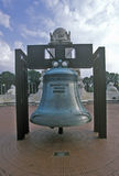 Replica of Liberty Bell at Union Station, Washington, DC Stock Image