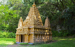 Replica of the mahabodhi temple at shenzhe window of the world, china Royalty Free Stock Photo