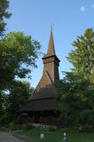 Replica Maramures wooden church Royalty Free Stock Image