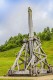 Medieval catapult stock photography