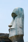 Replica Moai Stock Photography