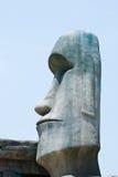 Replica Moai. Ancient stone statues called moai, the replica Moai Stock Photography