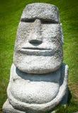 Replica Moai. Ancient stone statues called moai, the replica Moai Royalty Free Stock Photos