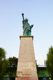 Replica of New-York Statue of Liberty in Paris Stock Images