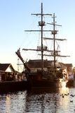 Replica of an old ship Royalty Free Stock Photography