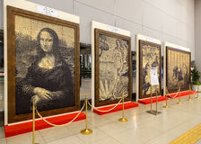 Replica Paintings in Osaka, Japan Royalty Free Stock Photos