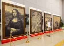 Replica Paintings in Osaka, Japan royalty free stock photos