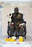 Replica of Panya Bhikkhu. Replica of the famous buddhist leader and peace ambassador Panya Bhikkhu Royalty Free Stock Photos