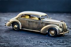 Replica of a retro car royalty free stock images