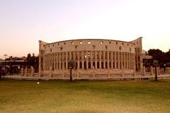 The replica of Rome`s Colosseum Stock Images
