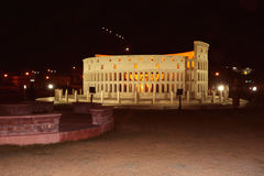The replica of Rome`s Colosseum Royalty Free Stock Image