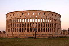 The replica of Rome`s Colosseum Royalty Free Stock Photography