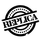 Replica rubber stamp Royalty Free Stock Photography
