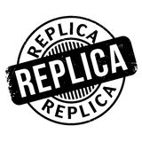Replica rubber stamp Royalty Free Stock Images