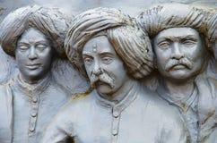 Replica of saints of Maharashtra, Situated at Sant Darshan Museum. Hadashi, Maharashtra, India Royalty Free Stock Image