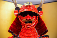 Replica Of Sanada Yukimura Armor in Osaka, Japan Stock Photography