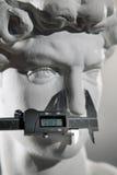 Replica sculpture of David Stock Photos