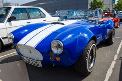 Replica sports car Shelby AC Cobra Stock Photos