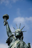Replica of Statue of Liberty, Nice, France royalty free stock images