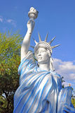 Replica of the statue of liberty Stock Image
