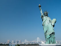 Replica of the Statue of Liberty Stock Photos