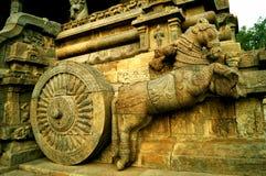 Replica of Sun Temple Konark Royalty Free Stock Images