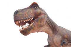 Replica of a T-Rex dinosaur Royalty Free Stock Images