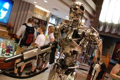 Replica of Terminator for sale Royalty Free Stock Photography